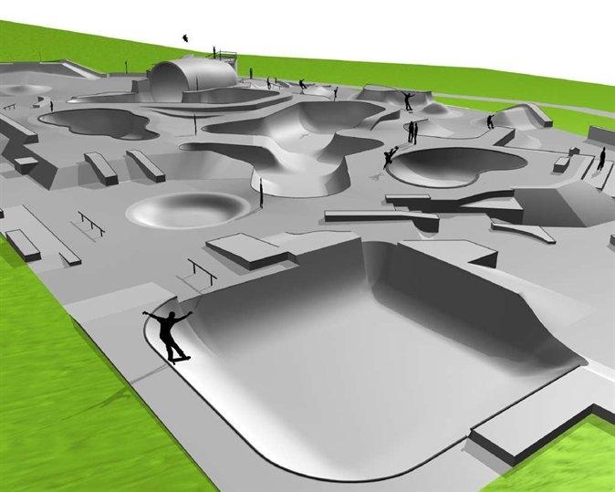 le meilleur skatepark du monde