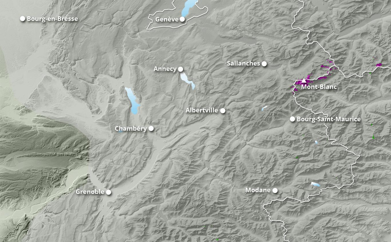 Cumul des chutes de neige à Villard de Lans